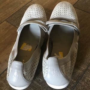 Cole Haan Gray Mary Janes